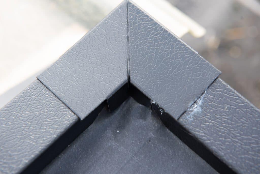 corner fascia for felt roof