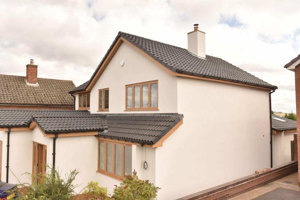finished house refurbishment